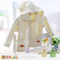 寶寶外套~薄雪絨春秋季連帽小外套~嬰幼兒服飾~魔法Baby~k00828