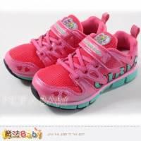 女童運動鞋~光之美少女輕量運動鞋~女童鞋~魔法Baby~sa37622