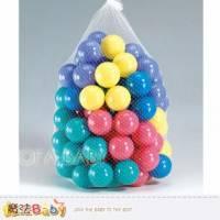 魔法Baby~台灣製造安全玩具~小球 網袋裝 ~兒童遊戲器材~dccb03