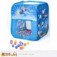 安全玩具~台灣製造方型帳篷+100球 彩盒裝 ~兒童遊戲~魔法Baby~dcbh02