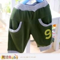 男童短褲~超舒適夏季短褲~男童裝~魔法BABY~k33489