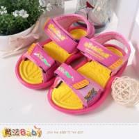 女童涼鞋~喜洋洋超輕量運動涼鞋~魔法Baby~sa45113