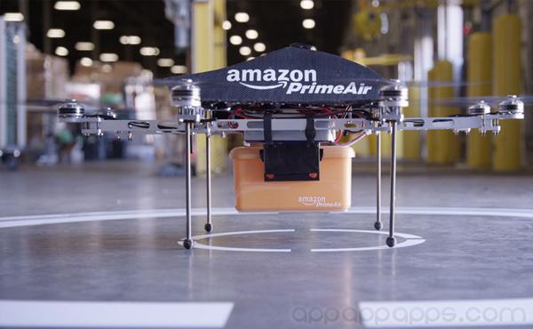 網購不用慢慢等送貨: Amazon科幻無人機極速飛送