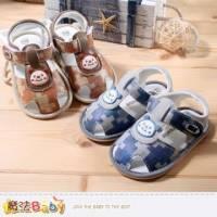 男寶寶涼鞋~百貨專櫃正品寶寶外出鞋~魔法Baby~sh3898