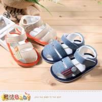 寶寶涼鞋~百貨專櫃正品簡約嬰幼兒外出鞋~魔法Baby~sh3904