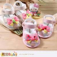寶寶涼鞋~百貨專櫃正品女寶寶外出鞋~嬰兒鞋~魔法Baby~sh3928