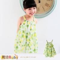 背心裙~細肩帶洋裝~女童裝~魔法Baby~k34813