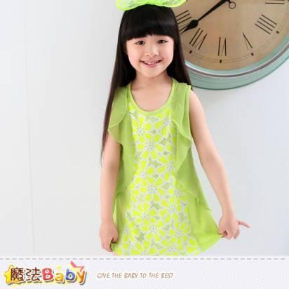 連身裙~女童洋裝~魔法Baby~k34837