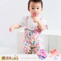 女寶寶連身衣~嬰兒連身包屁衣 紅.桔兩色,隨機出貨 ~魔法Baby~k34899