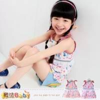 吊帶裙~嬰幼兒細肩帶連身裙 紅.桔兩色,隨機出貨 ~魔法Baby~k34905