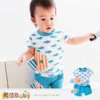 嬰幼兒套裝~男女寶寶短T短褲套裝~魔法Baby~k34912