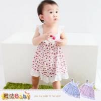 吊帶裙~女寶寶連身裙 洋裝~魔法Baby~k34974