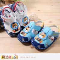 寶寶涼鞋~嬰幼兒外出鞋 白.藍 ~魔法Baby~sh4024