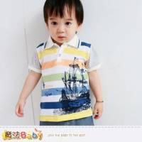 小童POLO衫~百貨專櫃正品純棉上衣~男童裝~魔法Baby~k35148