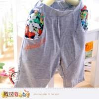 女童短褲~及膝夏季短褲~魔法Baby~k35445