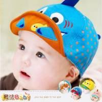 嬰幼兒帽子 鯊魚造型寶寶遮陽帽 黃.牛仔藍.水藍.粉.米色 魔法Baby~k35582