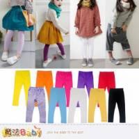 女童內搭褲 夏季薄款內搭長褲 女童裝 魔法Baby~k35667