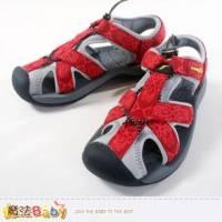 女鞋 護趾戶外運動涼鞋 魔法Baby~sa42102