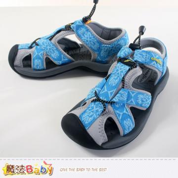 女鞋 護趾戶外運動涼鞋 魔法Baby~sa42106