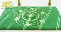 麥田圈地毯 神秘符號