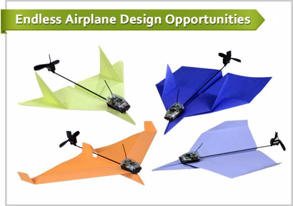 PowerUP 3.0 套件輕鬆將紙飛機化身遙控飛機