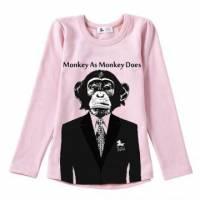 紳士猴子先生舒棉T