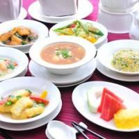 台北慶泰大飯店《金滿廳中式料理》-豪華海鮮美饌雙人套餐