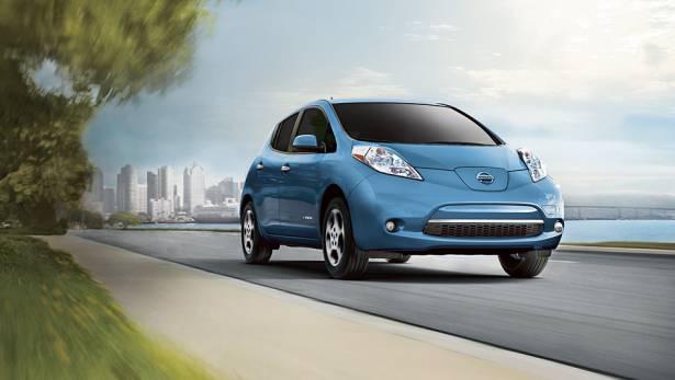 日產在日本透過電動車 Leaf 測試公路自動駕駛系統