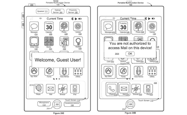 iPhone/iPad主頁鍵將來超多觸控功能, 整個螢幕也能認指紋