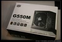CoolerMaster G550M 半模組化銅牌 PSU