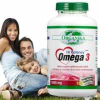 【Organika優格康】Omega3 魚油1000mg