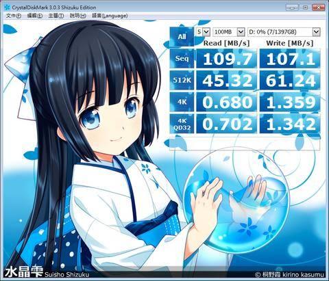 邁向大容量化的 2.5 吋硬碟, HGST Travelstar 5K1500 動手玩