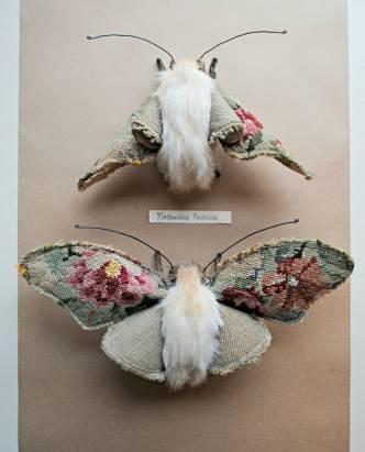 彷彿活在童話世界中:Mister Finch 夢幻縫紉藝術