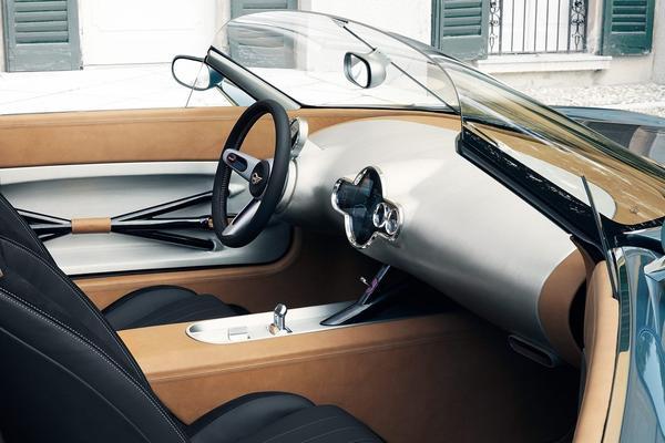 極致炫炮的電動車:Mini Cooper 「Mini Touring Superleggera」概念電動車