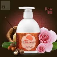 《MOMUS》乳木果花馥身體乳-薔薇