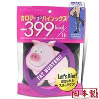 【日本小豬襪】肥蘿蔔byebye階段式著壓美腿襪