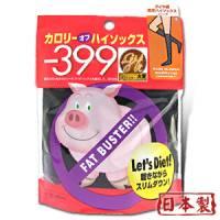 【日本小豬襪】鑽石著壓美腿襪