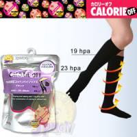 【日本小豬襪】棉質著壓曲線五指小腿襪 黑