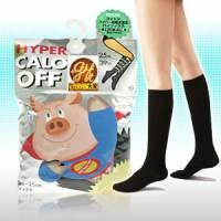【日本小豬襪】階段式加強著壓美腿襪 黑色菱格