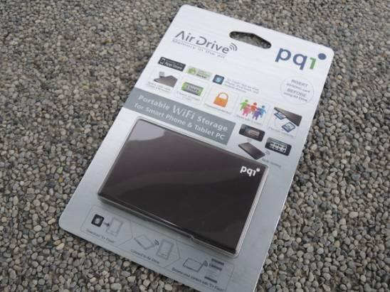 [開箱] 輕巧好用 pqi Air Drive 無線傳輸隨身碟