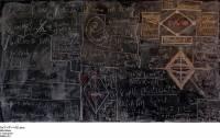 拍攝寫滿量子力學算式的黑板!?