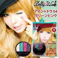 【KOJI】DollyWink玩美調色眼影盤 04GreenPink