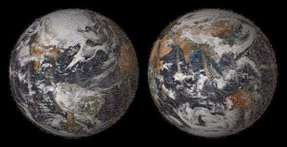 NASA 製作 32 億像素自拍地球照