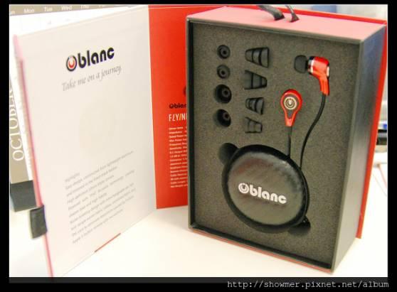 Oblanc NX-1 美聲美型的入耳式耳機
