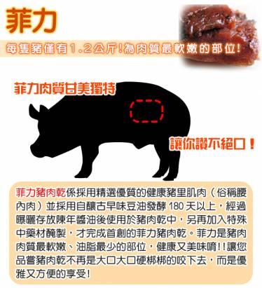 【快車肉乾】A14菲力黑胡椒豬肉乾 x 超值分享包