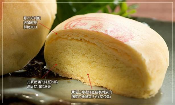 《漢坊》臻饌 純綠豆椪禮盒 (6入)