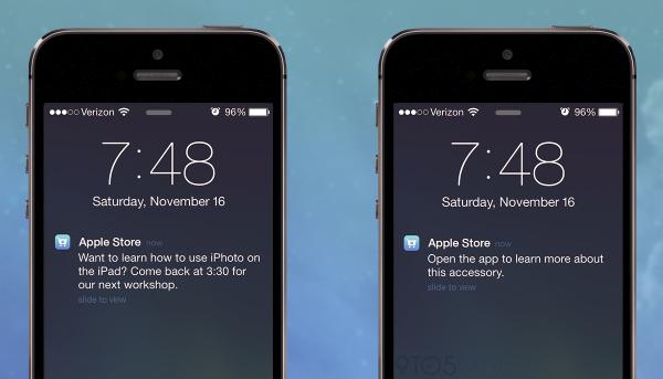 """iOS 7隱藏功能: """"iBeacon"""" 將應用在Apple Store"""