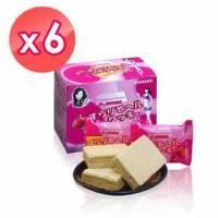 【伊仕媚】暢纖威化餅 6包 盒*6盒入