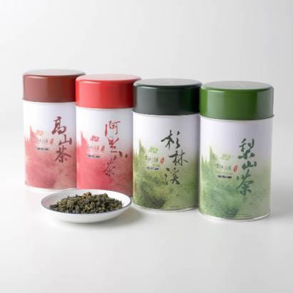 iTea‧入門級‧四大好茶‧濃香高山+阿里山+杉林溪+梨山‧150g四罐