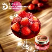 《夢想果》紅酒草莓玻璃瓶裝300g